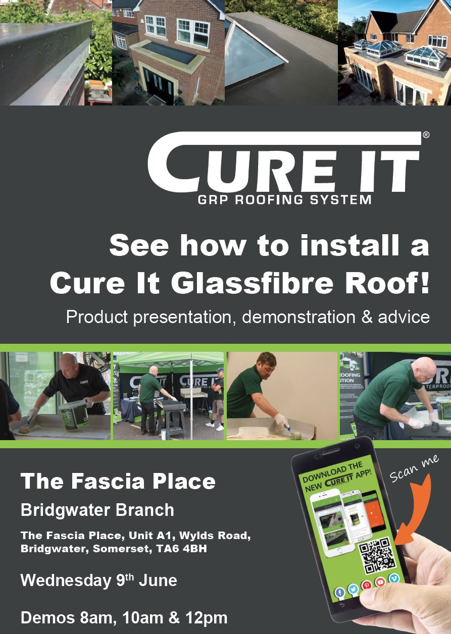 Cure It Demo Day Wednesday 9th June 2021 @ The Fascia Place in Bridgwater