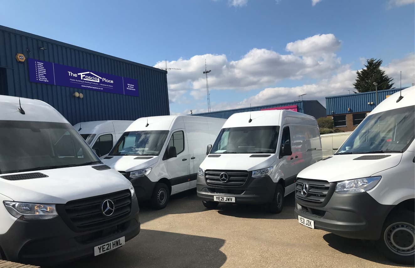 New vehicles added to The Fascia Place Fleet